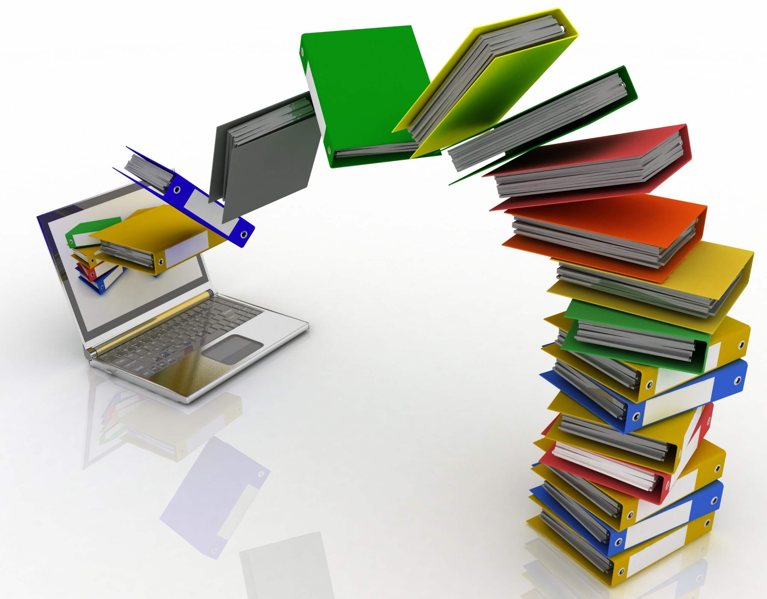 La dématérialisation des documents